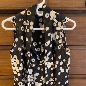 Sleeveless Loft dress shirt